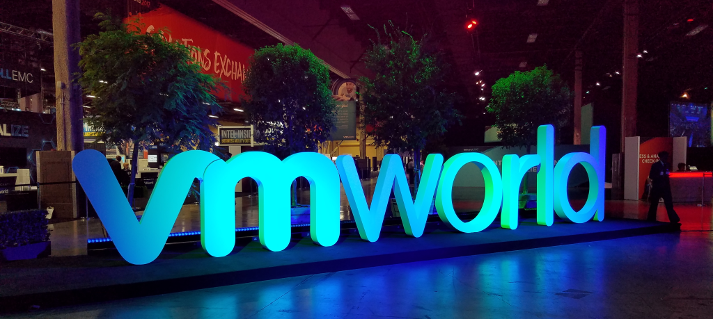 Proud to support this year's VMworld 2020 conference