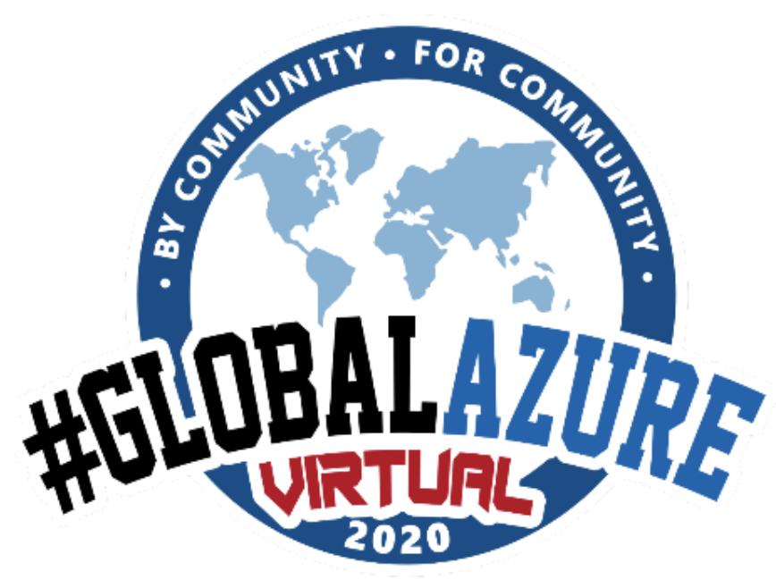 Presenting at Global Azure Virtual Day 2020 Omaha